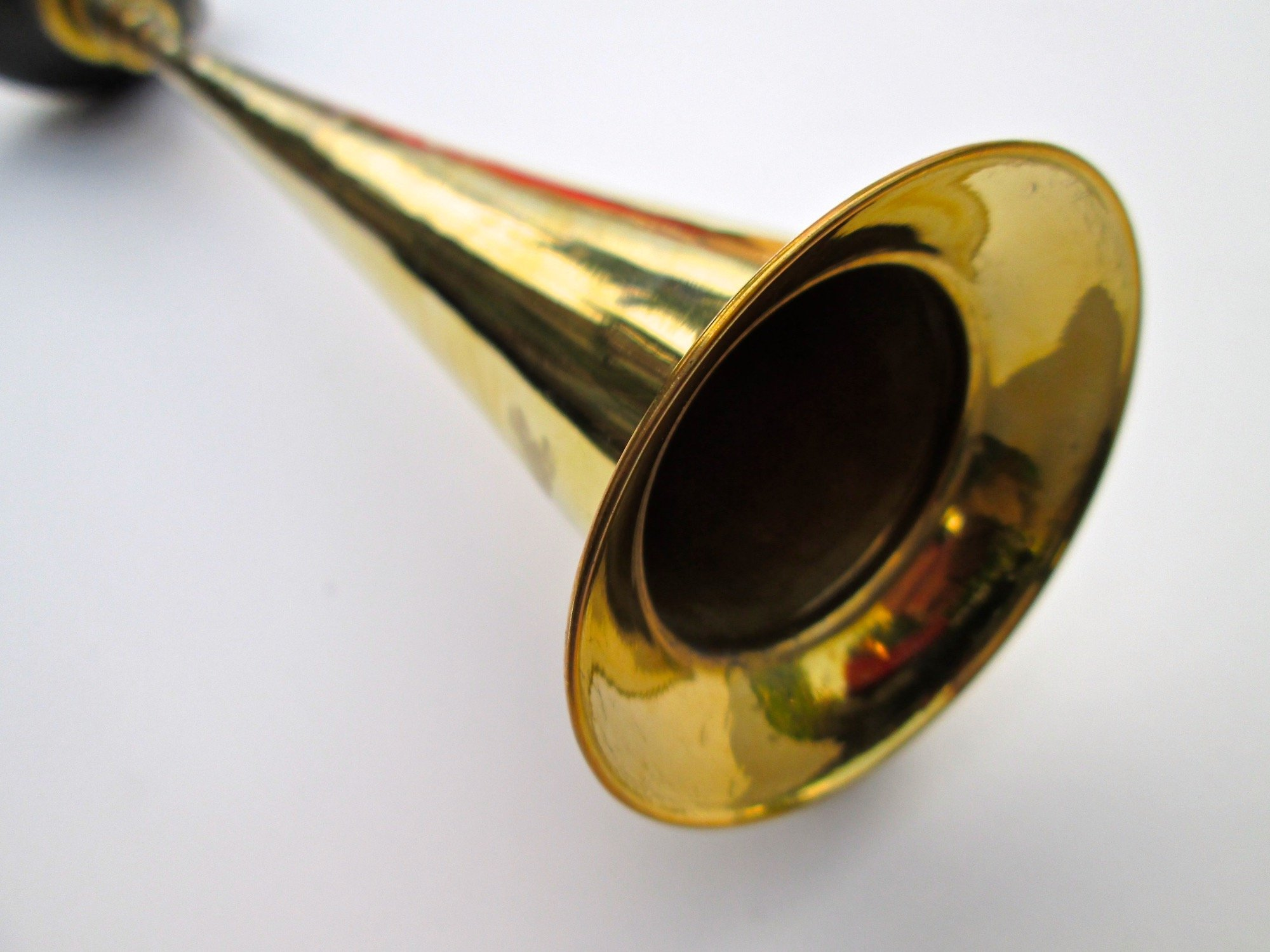 Straight Brass Bulb Horn by Folkroots (Image #5)