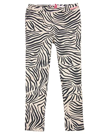 8f40cc3d22bd7 Amazon.com: Nono Girl's Zebra Print Leggings, Sizes 6-16: Clothing