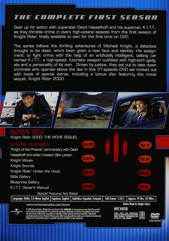 Knight Rider: Season One [Reino Unido] [DVD]: Amazon.es: Cine y Series TV