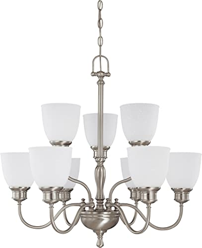 Nuvo Lighting 60 2779 Nine Light Chandelier
