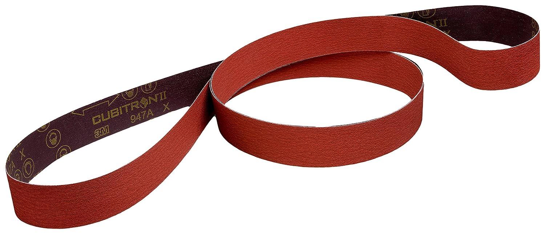 """5-Pk 3M Trizact Cloth Belt 237Aa 1//2/"""" X 18/"""" A100X"""
