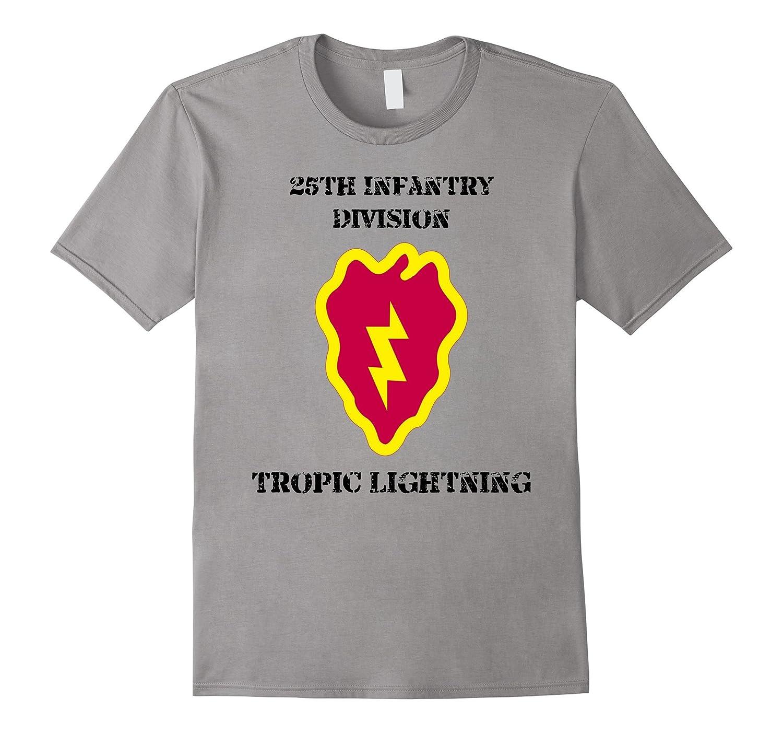 25th Infantry Division Tropic Lightning Army Veteran Shirt-TH