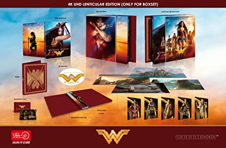 Amazon Com Wonder Woman 4k Uhd Blu Ray Hdzeta Exclusive