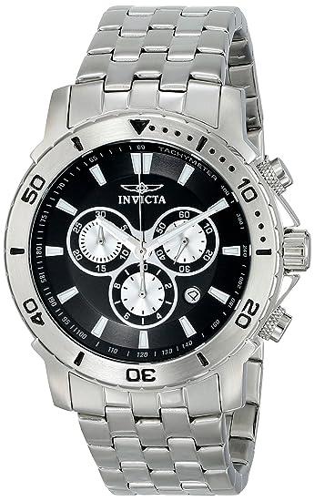 Invicta 6789 - Reloj de pulsera hombre, Acero inoxidable, color Plata