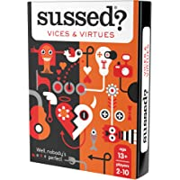 SUSSED Vices and Virtues (Hilarious Family Friendly Conversation Card Game) (Find Out Who Knows Who Best)