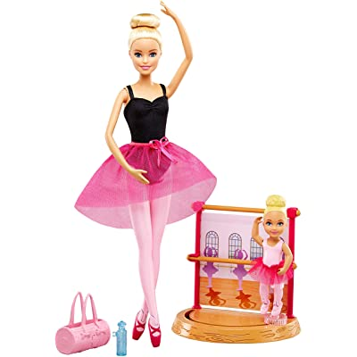 Barbie Ballet Instructor [ Exclusive]: Toys & Games [5Bkhe1901070]