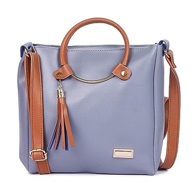 66f50453d18 YOURS LUGGAGE Women s Stilo Blue  Amazon.in  Shoes   Handbags