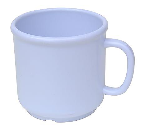 Amazon.com: Juego de 6 tazas de plástico SAN para bebidas ...