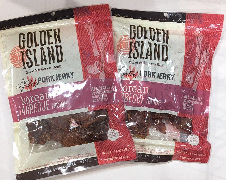Golden Island Korean BBQ Pork 14.5 Ounce(Pack of 2) by Golden Island (Image #1)