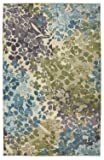 Mohawk Home Aurora Radiance Abstract Floral Printed