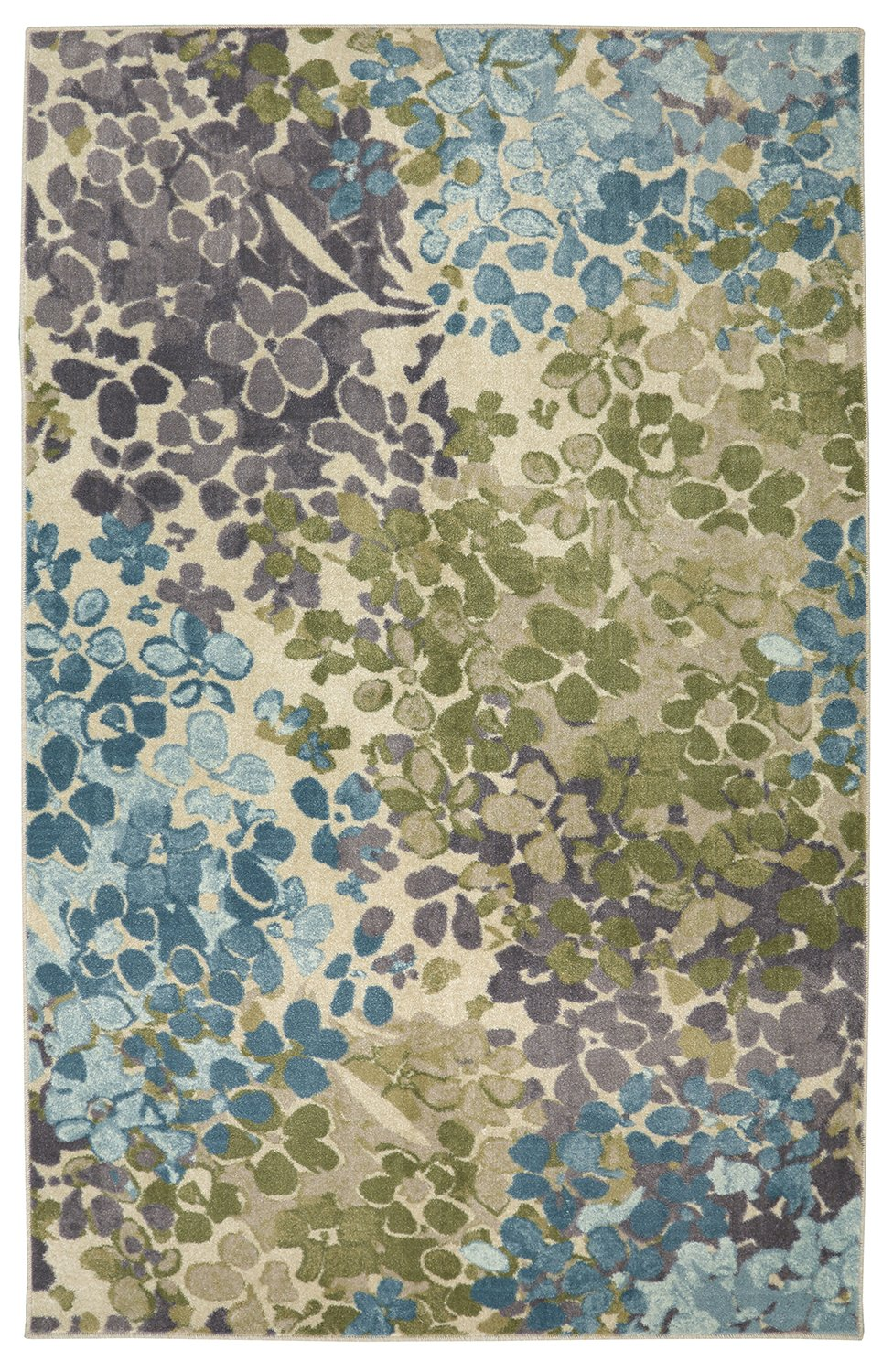 Mohawk Home Aurora Radiance Abstract Floral Printed Area