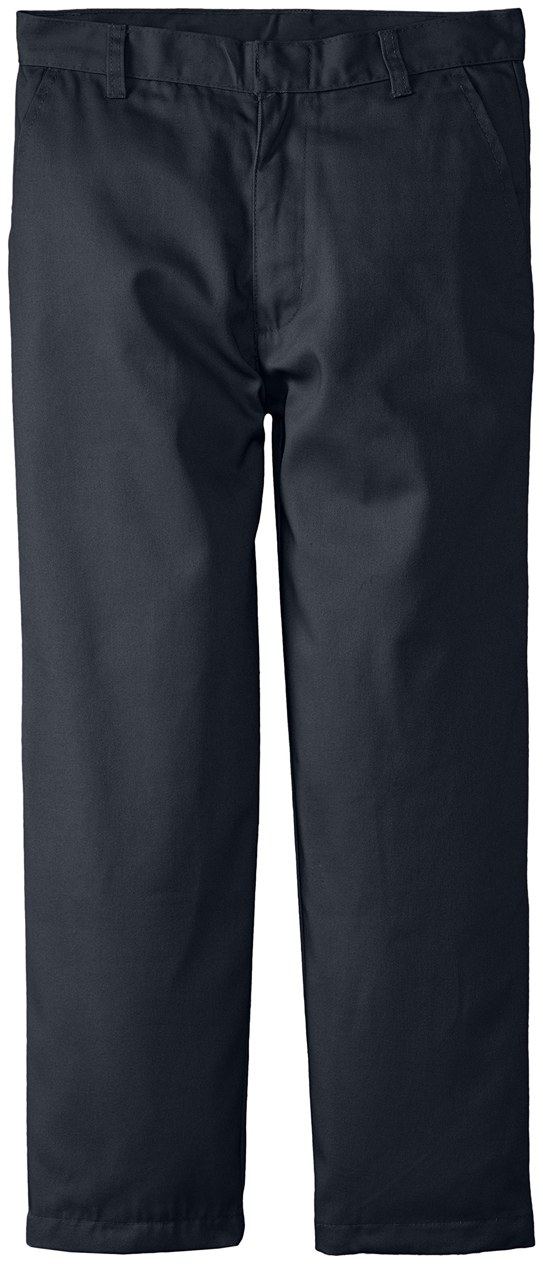 Genuine School Uniform Boys Twill Pant (More Styles Available), Basic Navy, 14H