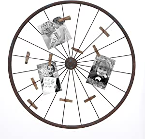 Deco 79 Metal Photo Holder Wall Decor, 24-Inch