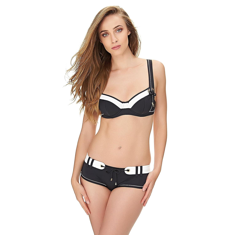 c0575ddc79e5c Maillot de bain balconnet noir Look At Me (Haut) - 95E: Amazon.fr:  Vêtements et accessoires