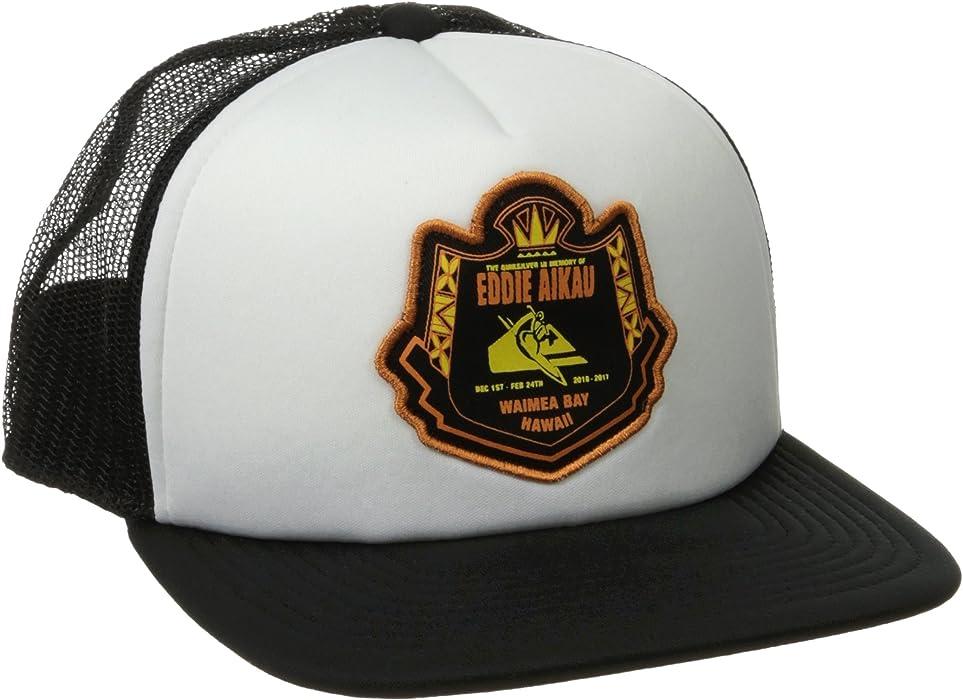 9e032b189627e Amazon.com  Quiksilver Men s Eddie Emblem Trucker Hat