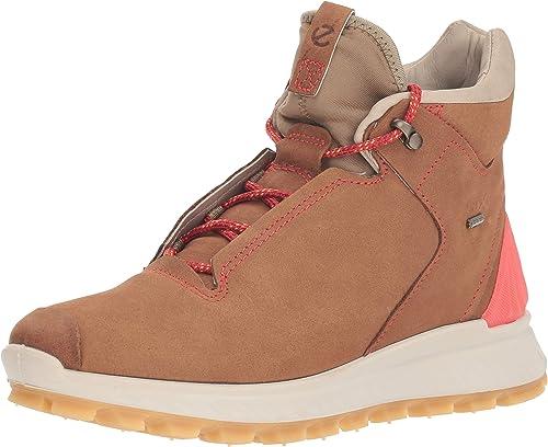 ECCO Women's Exostrike Gore tex High Hiking Shoe