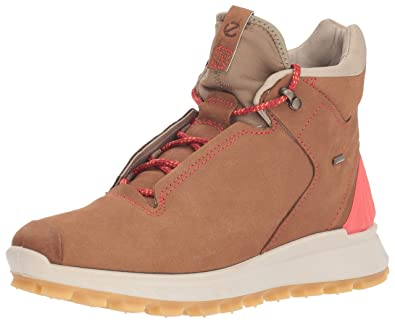 fd0dfa6003eeb4 ECCO Women s EXOSTRIKE Gore-TEX High Hiking Shoe Camel Gravel 35 M EU (