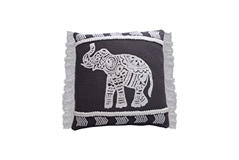 Amazon.com: James Home Hasin - Cojín con diseño de elefante ...
