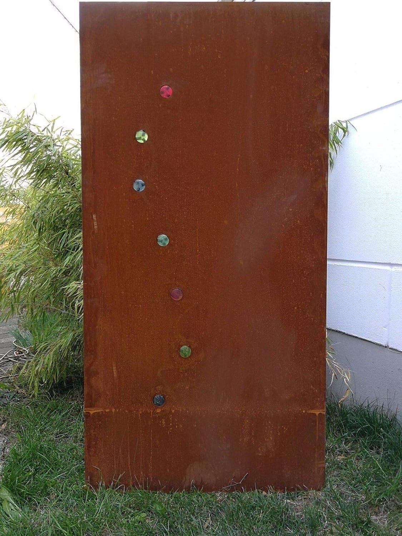 Edelrost Garten Sichtschutz Metall Rost Sichtschutzwand Gartendeko