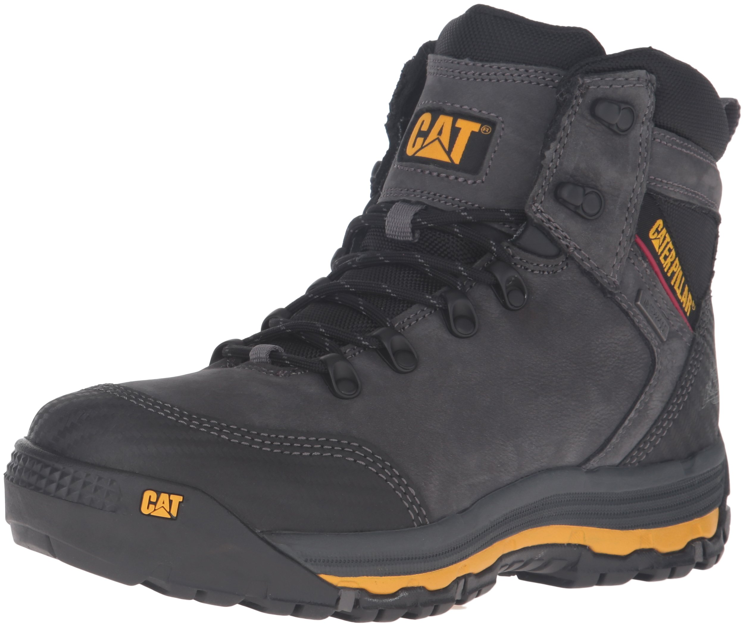 Caterpillar Men's Munising 6'' Waterproof Industrial and Construction Shoe, Dark Shadow, 13 M US by Caterpillar (Image #1)
