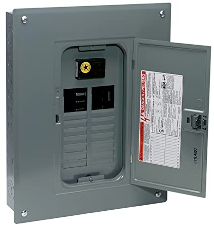 Square d by schneider electric qo120m100c qo 100 amp 20 space 20 square d by schneider electric qo120m100c qo 100 amp 20 space 20 circuit indoor greentooth Image collections
