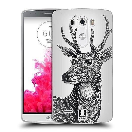 9 opinioni per Head Case Designs Cervo Natura Decorata Cover Morbida In Gel Per LG G3 / D855 /