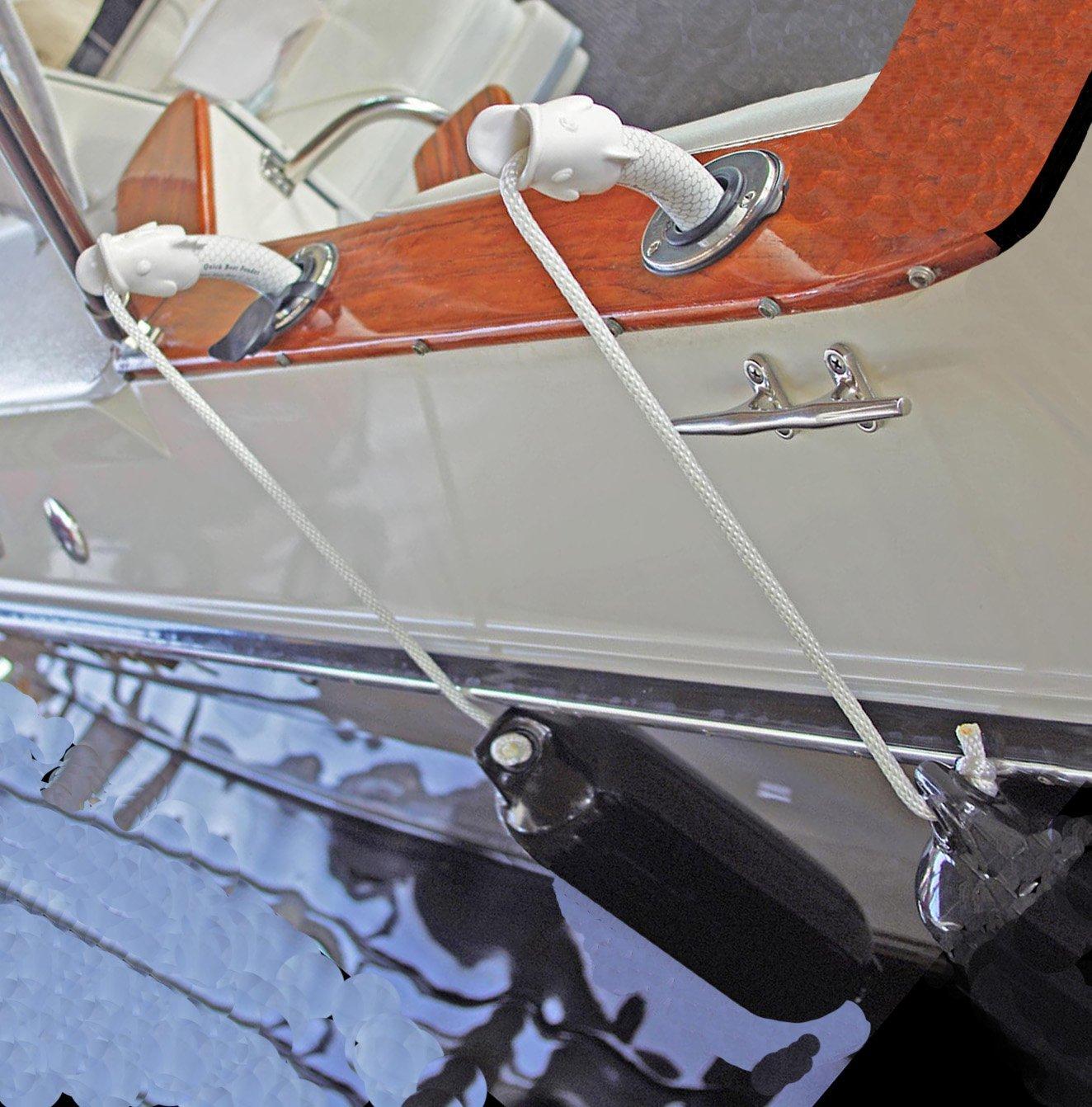 LIFETIME WTY! 6 FENDERGRIP® Fender Holder Adjuster Hanger for Boats The Best