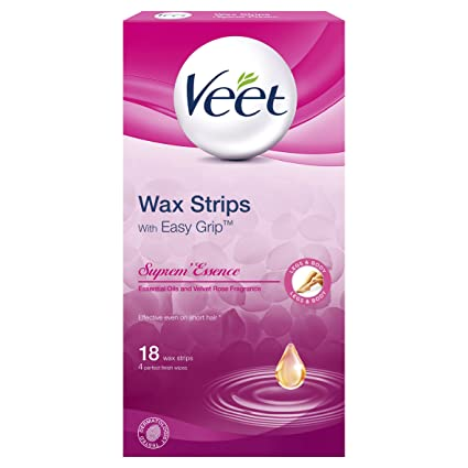 Veet Wax Strips - Crema depilatoria