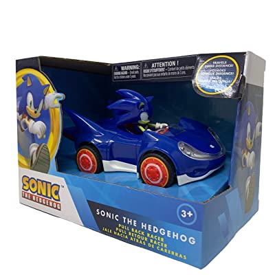 NKOK Sonic The Hedgehog All Stars Racing Pull Back Action - Small Size: Toys & Games