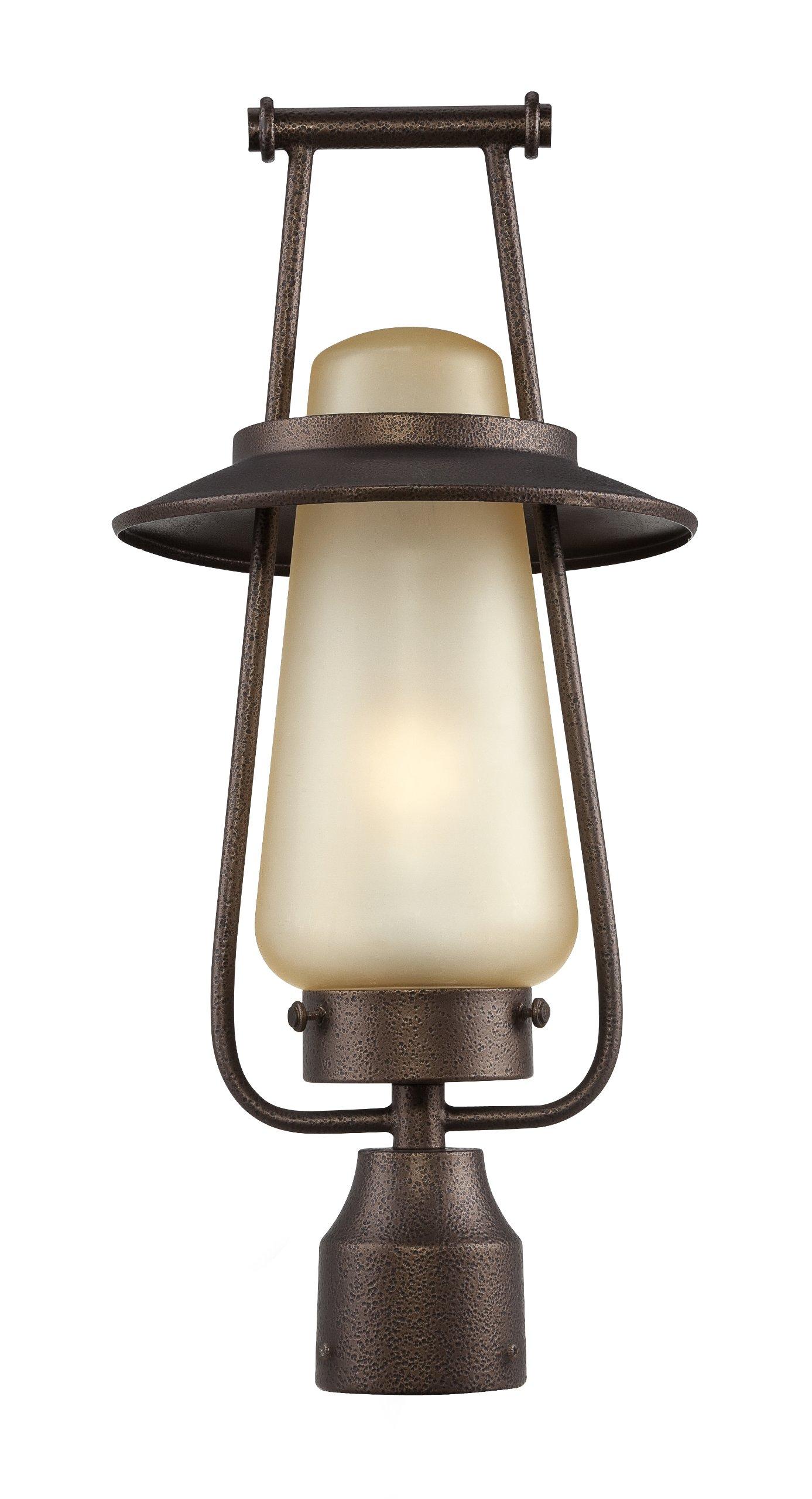 Designers Fountain FL32036-FBZ Stonyridge Post Lanterns, Flemish Bronze