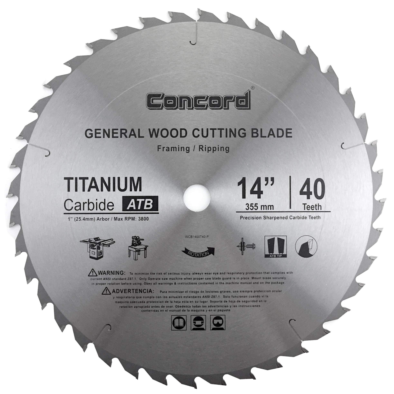 "FREUD D1472CF 14/"" 72T DIABLO Steel Demon Saw Blade for Ferrous Metals 1/"" Arbor"