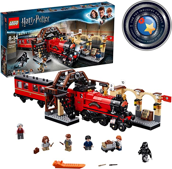 Lego 75955 Harry Potter Hogwarts Express Train Toy Wizarding World Fan Gift Building Sets For Kids Lego Toys Games