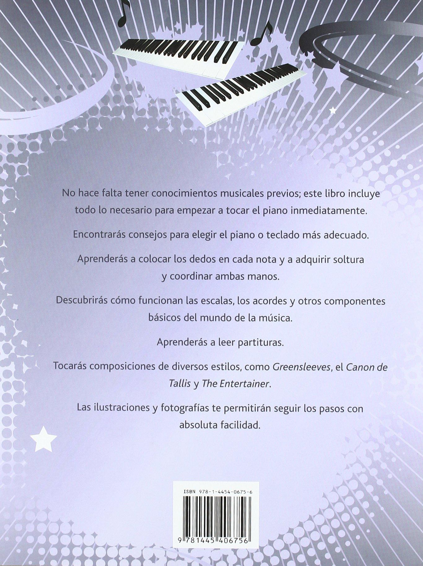 APRENDE A TOCAR EL PIANO Y LOS TECLADOS: 9781445406756: Amazon.com: Books