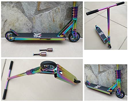 DIS Slick XL Custom Pro Complete Scooter Professionally Assembled Neochrome
