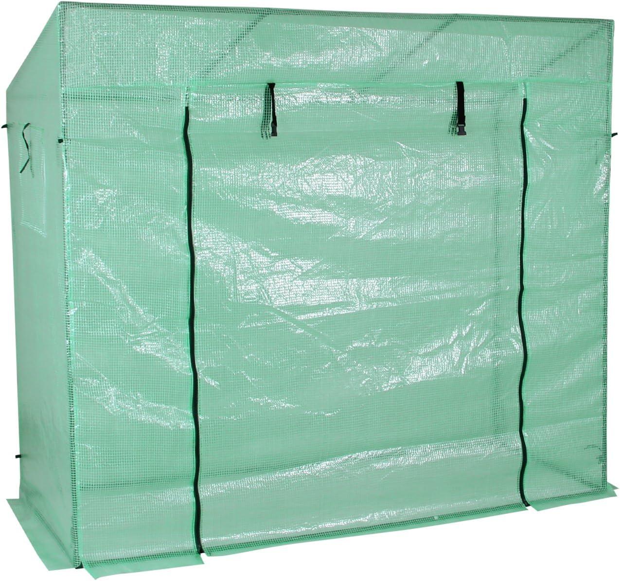 Yorbay Invernadero de jardín Tomates 200x80x170 / 150cm Tela de ...