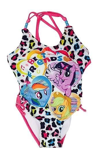 b02827af22357 Amazon.com: Hasbro Little Girls' My Little Pony Rainbow Friends One ...