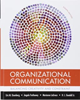 Leadership a communication perspective sixth edition organizational communication balancing creativity and constraint fandeluxe Gallery