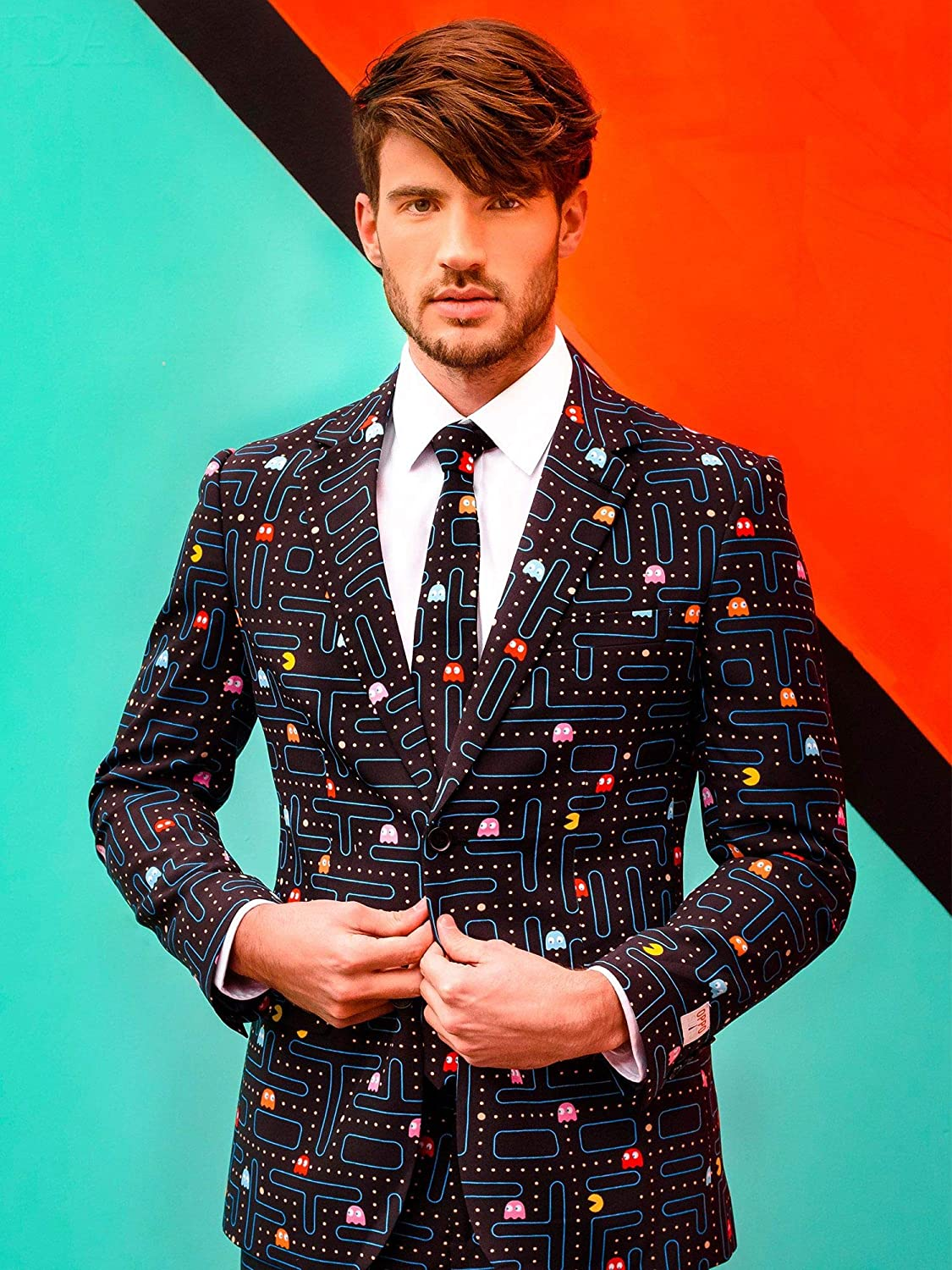 OppoSuits Prom Suits For Men – Pac-Man – Comes with Jacket, Pants ...
