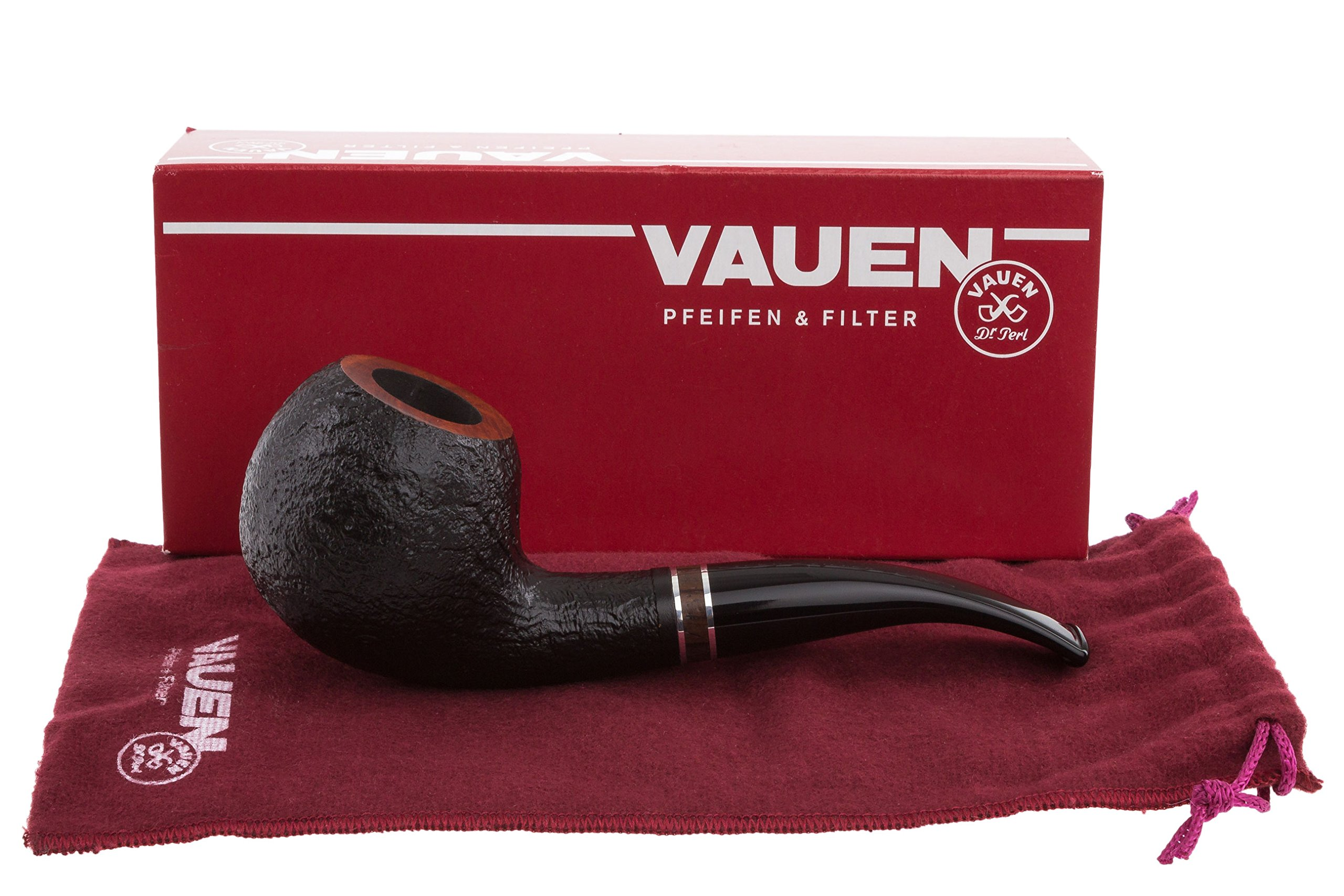 Vauen Francesco 4942N Sandblast Tobacco Pipe