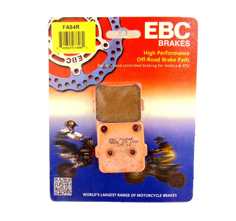 EBC Brake Pads Front Rear Brake Caliper Pads Yamaha YFM 125 350 660 Raptor FA84R CRU Products