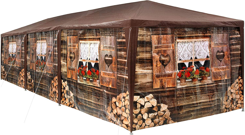 TecTake 403122 - Pabellón 3x9m, Cenador para Eventos y Fiestas ...
