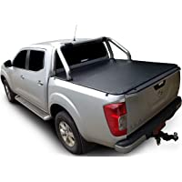 Tuff Tonneaus Nissan Navara NP300 Dual Cab Genuine No Drill Clip On Tonneau Cover (Suits Factory Sports Bars)