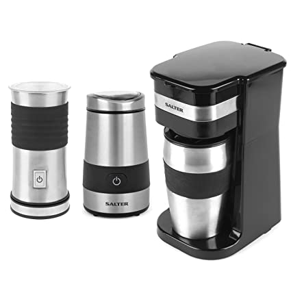 Salter Combo 4461 Coffee Maker To Go Filter Machine With