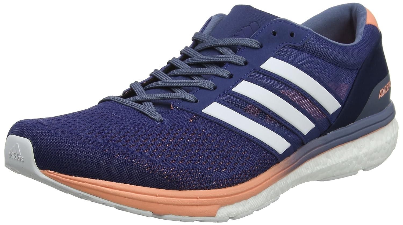 Adidas Adizero Boston 6 W, Zapatillas de Running para Mujer 40 EU|Azul (Noble Indigo/Footwear White/Raw Steel 0)