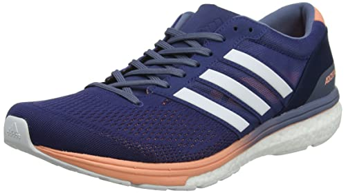 adidas Adizero Boston 6 W, Chaussures de Trail Femme, Bleu