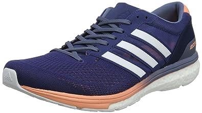 timeless design 193b2 251f8 adidas Adizero Boston 6 W, Chaussures de Trail Femme, Bleu (IndnobFtwbla