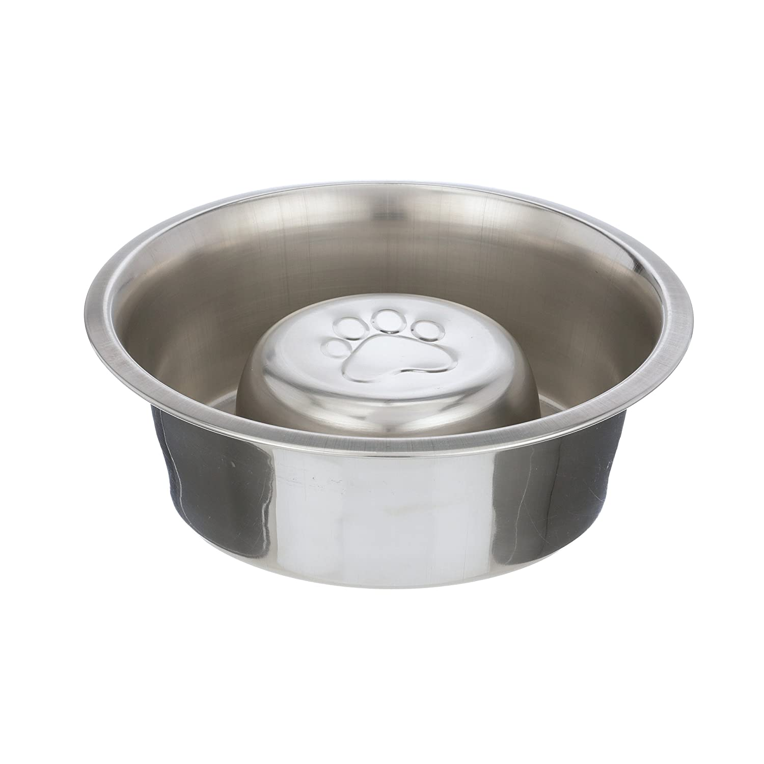 NEATER PET BRANDS Slow Feed Bowl Stainless Steel - Stop Dog Food Gulping, Bloat and Rapid Eating - Fits in Large Neater Feeders and Most Elevated Feeders