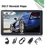 Xgody 16GB ( 8GB ROM + 8GB SD Card ) 886 Car Truck GPS Navigation System 7 Inch Capacitive Touchscreen SAT NAV Navigator with Lifetime Maps (886+SD Card)