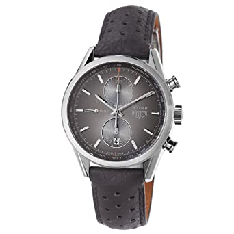 845028a4c71 Image Unavailable. Image not available for. Color: Tag Heuer Carrera 300  SLR Brown Dial Chronograph Mens Watch CAR2112FC6267