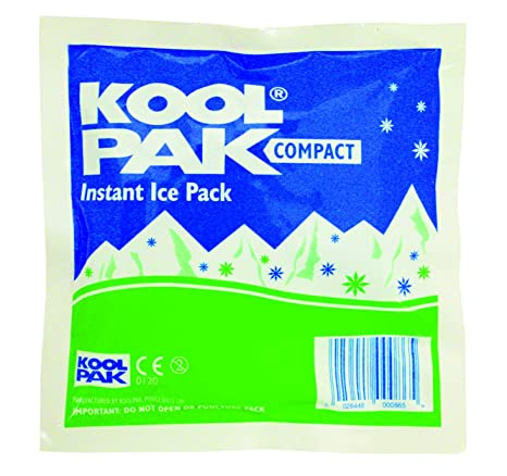 Koolpak compacto Instant Ice Pack, Pack de 20: Amazon.es: Salud y ...